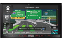 Pioneer AVIC-8201NEX Package With ND-BC8 Backup Camera