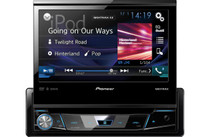"Pioneer AVH-X7800BT 1-DIN DVD Receiver with 7"" Flip-out Display"