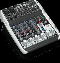 Behringer Xenyx QX602MP3 6-Input Mixer w/ Effects & MP3 Player