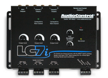 AudioControl LC7i Black 6-Channel Line Output Converter w/ accuBASS™