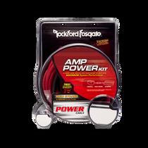 Rockford Fosgate RFK4 4-gauge amplifier power wiring kit