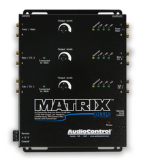 AudioControl Matrix Plus (Black) 6-channel line driver