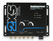 AudioControl 2XS 2-Way Electronic Crossover