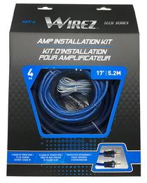 Wirez AKT-4 4 Gauge Amplifier Installation Kit