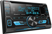 Kenwood DPX302U 2-DIN CD Receiver with Front USB / AUX Inputs