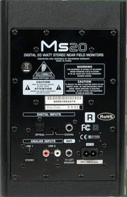 Behringer MS20 20-Watt Digital Monitor Speakers (Pair)