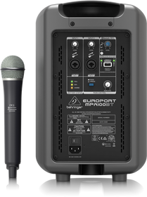 Behringer Europort MPA100BT Portable Battery Powered Speaker (Open Box)