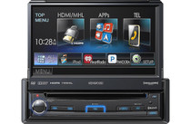 "Kenwood KVT-7012BT 7"" Flip-out DVD Receiver with Bluetooth & HDMI"