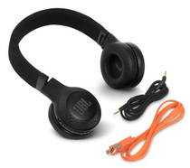 JBL E45BT Black wireless on-ear headphones