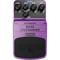 Behringer BOD400 Bass Overdrive Stompbox Effect Pedal
