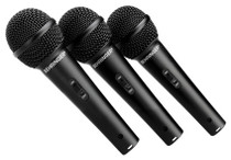 Behringer XM1800S 3-pack Dynamic Microphones