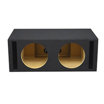 """Ported 12"""" Subwoofer Box - Dual"""
