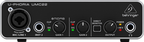 Behringer U-Phoria UMC22 2x2 USB Audio Interface