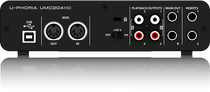 Behringer UMC204HD USB Audio Interface