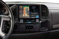 Alpine X009-GM2 In-Dash Restyle System Navigation receiver for GM/Chevrolet trucks