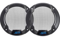 """Alpine KTE-S510G Speaker grilles for SPS-510 5-1/4"""" speakers (pair)"""