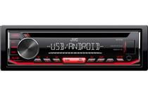 JVC KD-R490 1-DIN CD Receiver Front USB