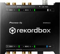 Pioneer DJ INTERFACE 2 Audio Interface with rekordbox dj and dv