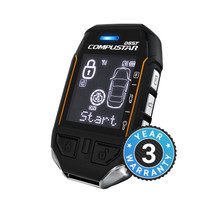 Compustar Pro T11 2-Way 10,000-ft Range Remote - RF-P2WT11-SS + DC3 - Installation Included