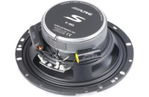 "Alpine S-S65 6-1/2"" 2-way car speakers"