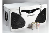 Alpine PWD-CB1 In-Cooler Entertainment (ICE) system