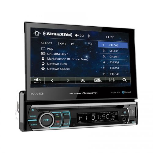 "Power Acoustik 7"" Flip-out DVD Receiver with Bluetooth"