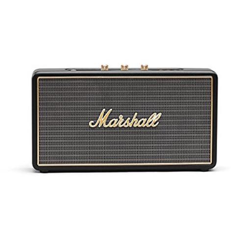 Marshall Stockwell Portable Bluetooth Speaker, Black
