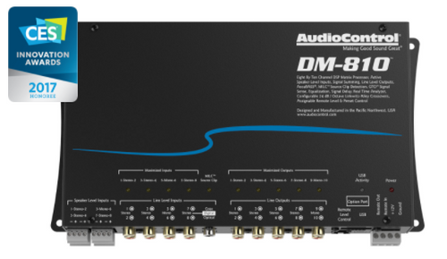 AudioControl DM-810 Premium 8 Input 10 Output DSP Matrix Processor