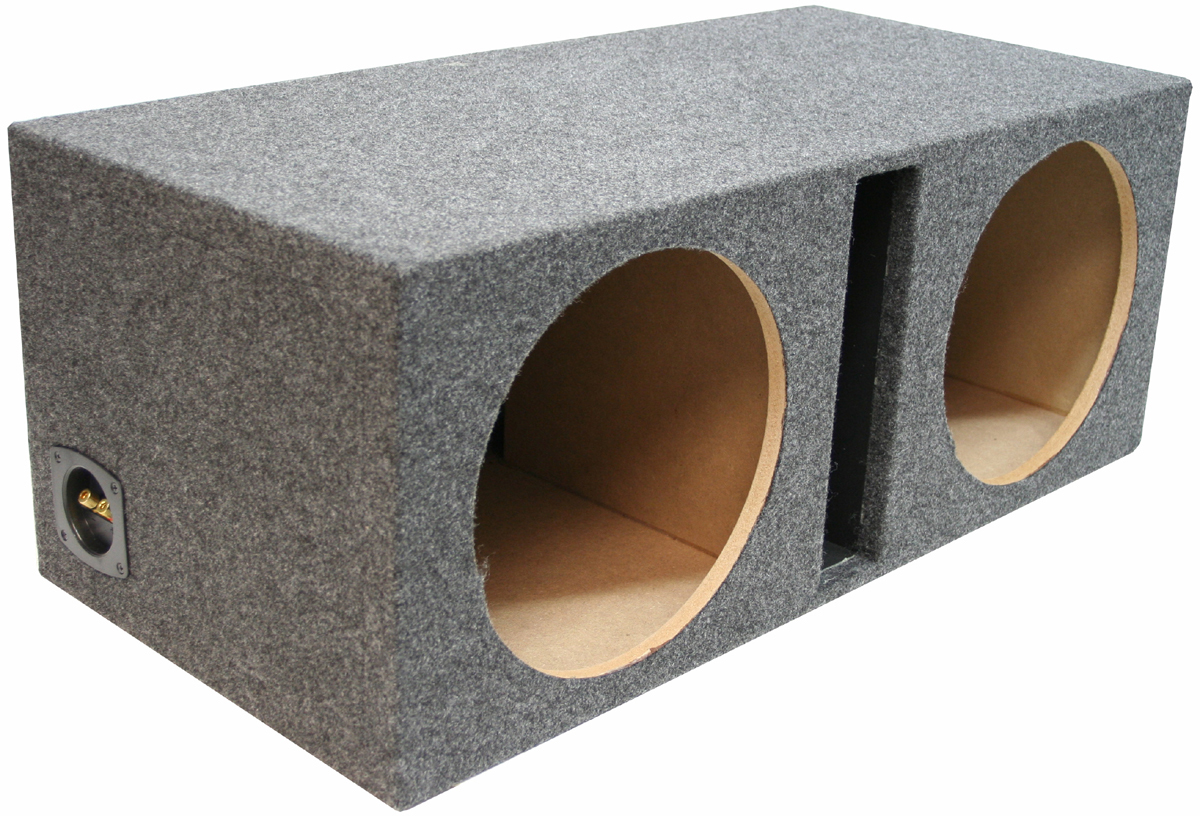 Ported Dual Subwoofer Boxes