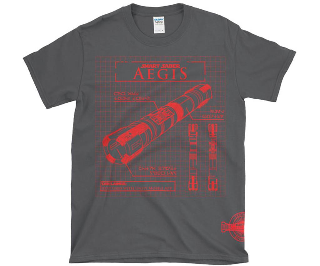 Aegis Graphic T-Shirt - Electrum Authentic Wear