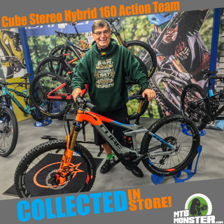 2019 Cube Stereo 160 Hybrid Action Team
