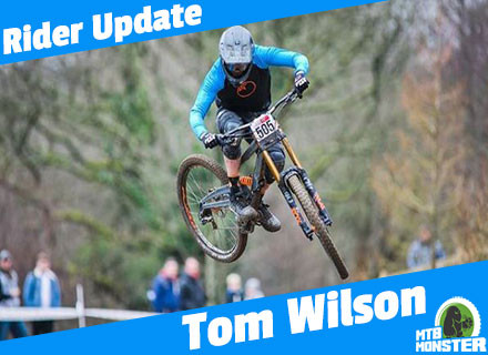 Tom Wilson to represent Great Britain at Fort William DH World Cup