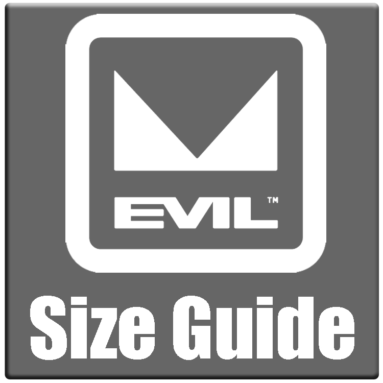 Evil sizing chart and bike size guide 2021