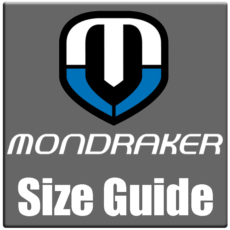 Mondraker sizing chart and bike size guide 2021