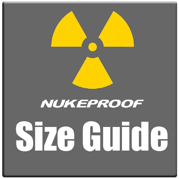Nukeproof bike sizing chart and bike size guide 2021