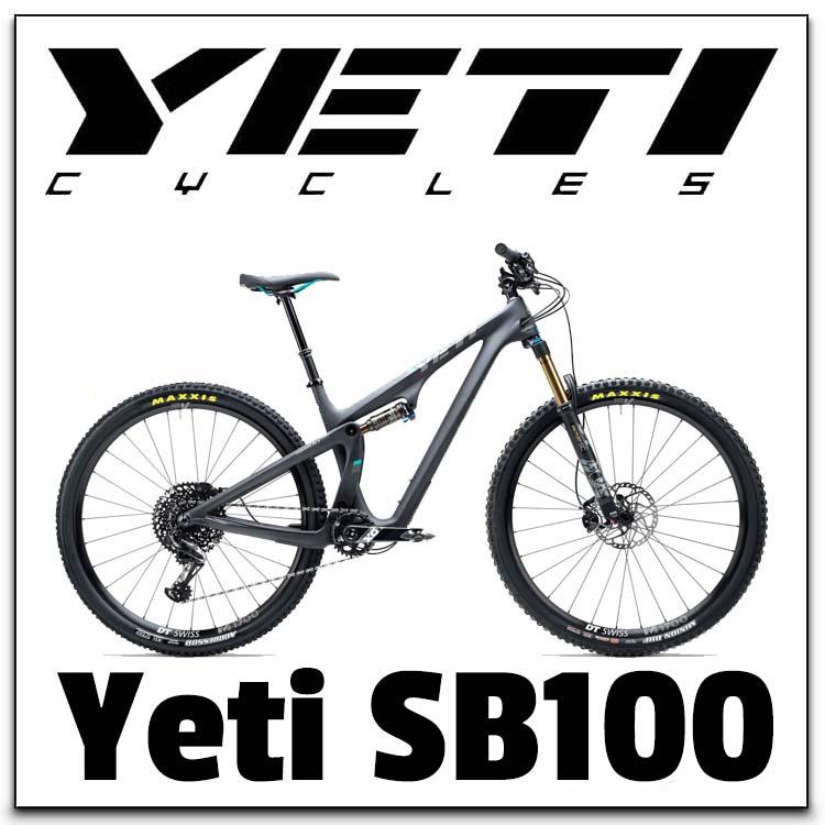 Yeti SB100 Range