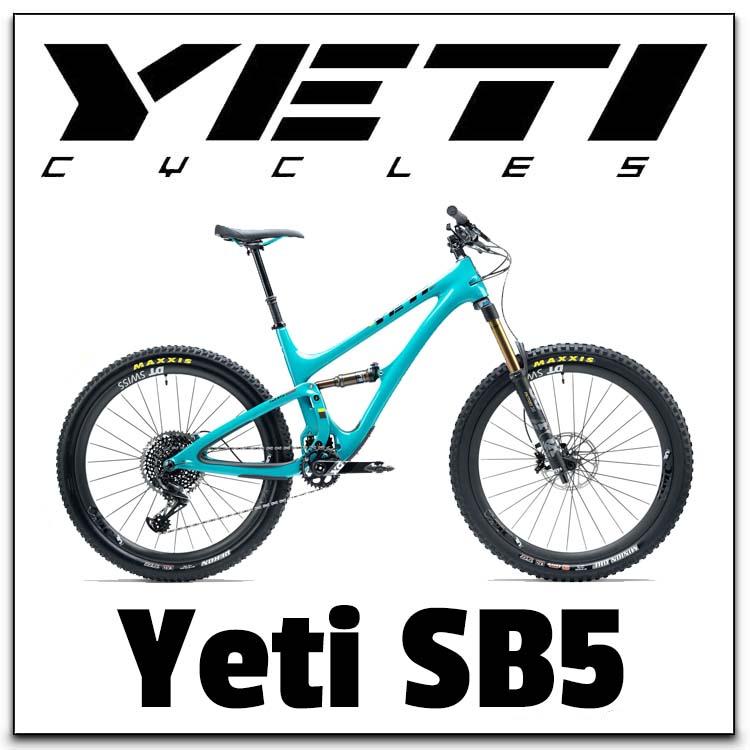 Yeti SB5 Range