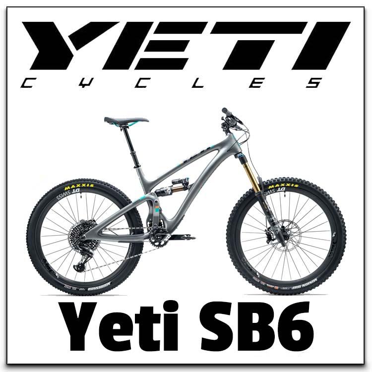 Yeti SB6 Range