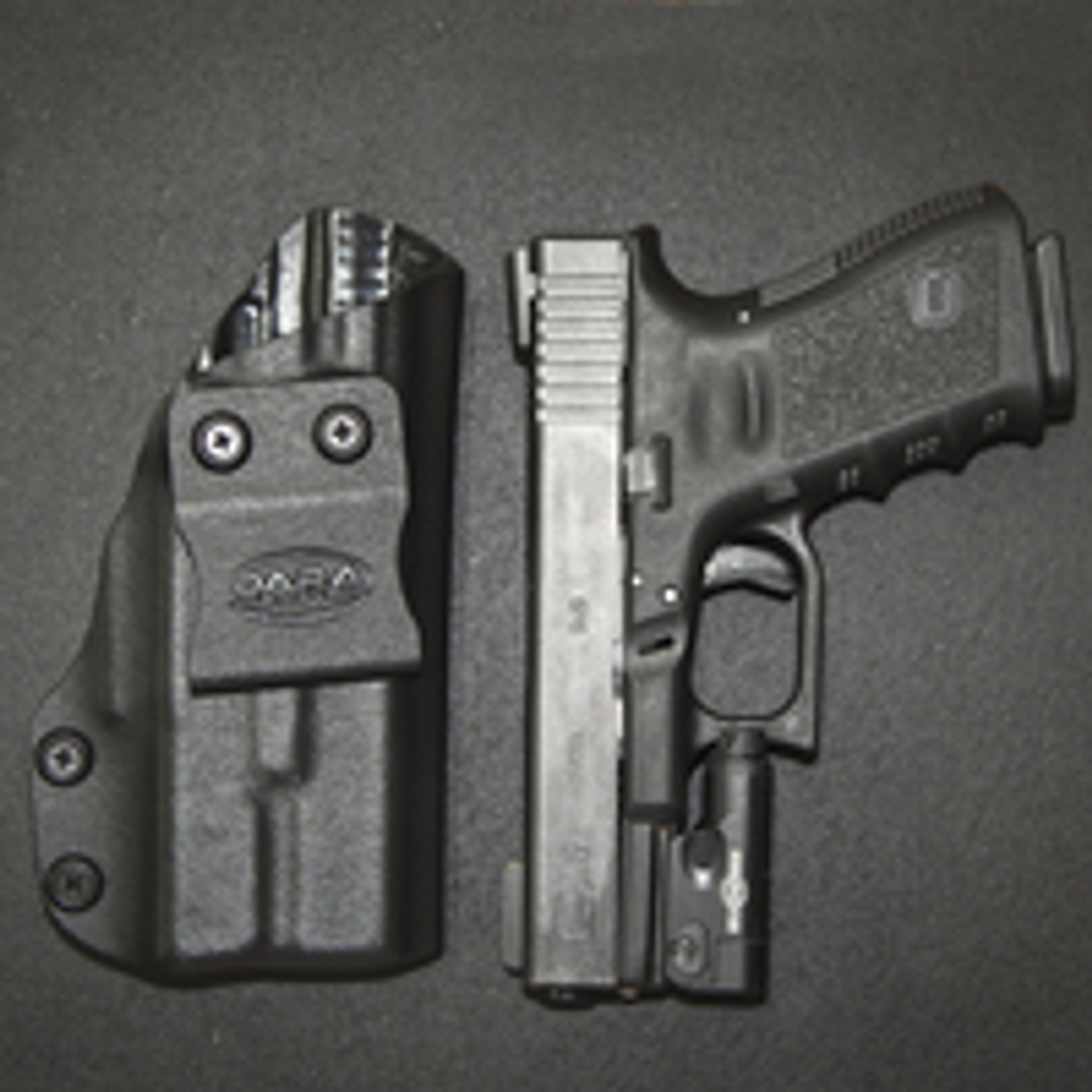 Glock 19 w/XC-1 IWB Quick Ship Holster
