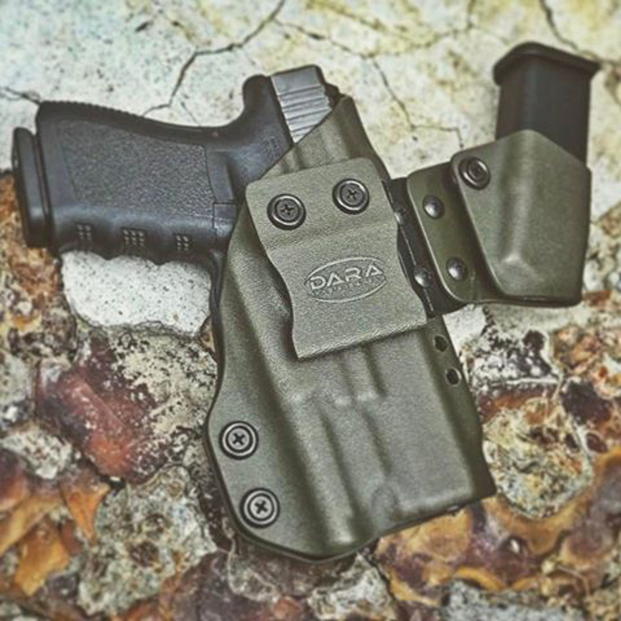 Modular Appendix Rigs: Glock 26/27/33 & M&P Shield 9/40