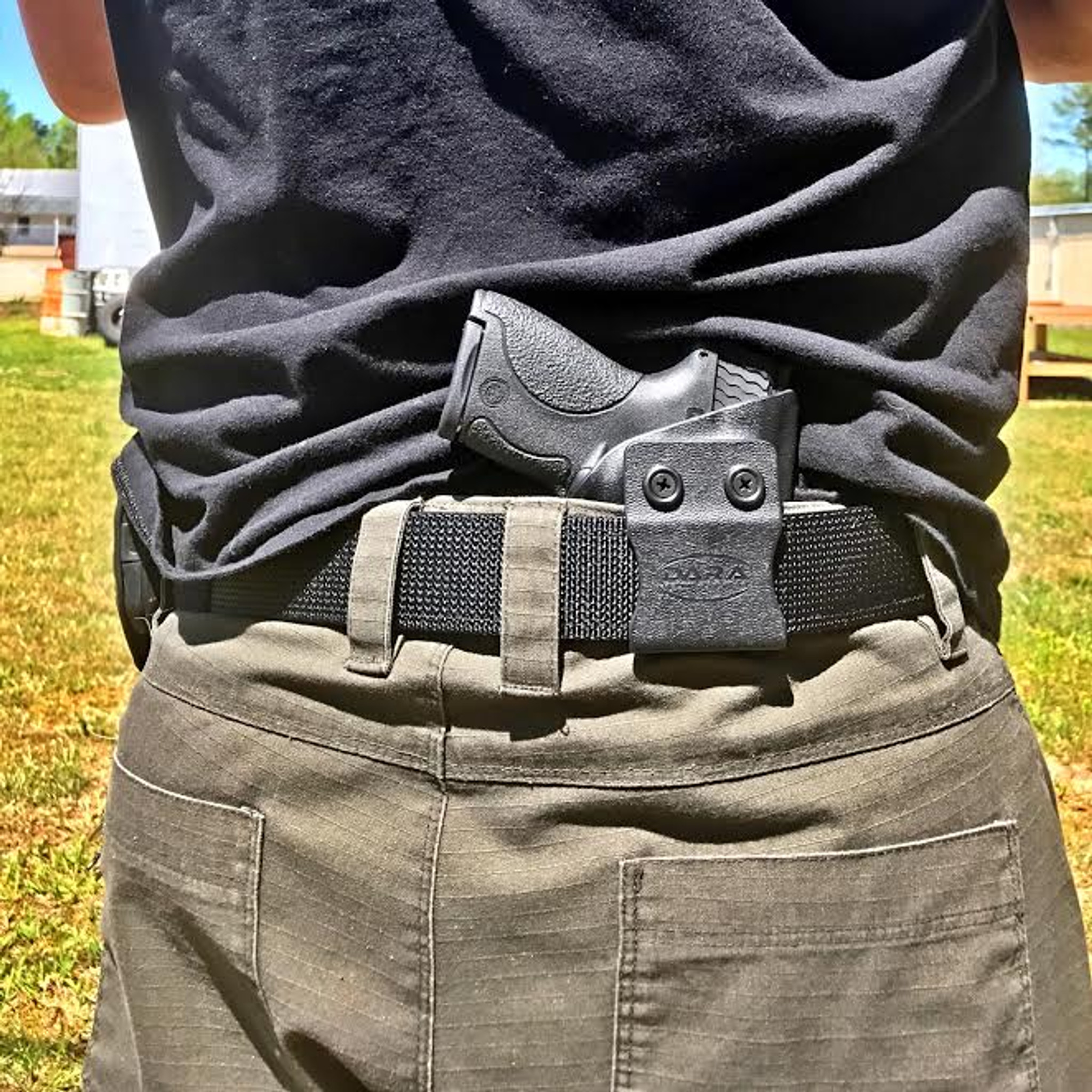 M&P Shield IWB Holster & Nylon Tacbelt