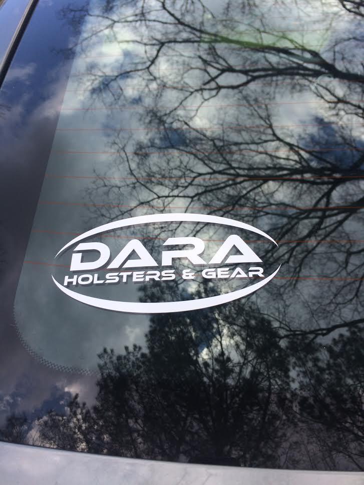"""Dara Holsters 6"""" Logo Decal"""