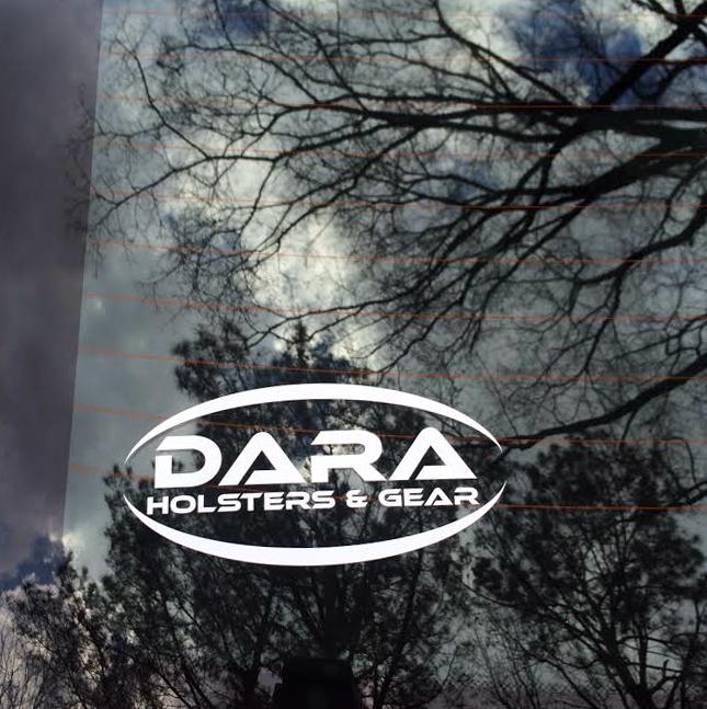 Dara Holsters & Gear Logo Decal
