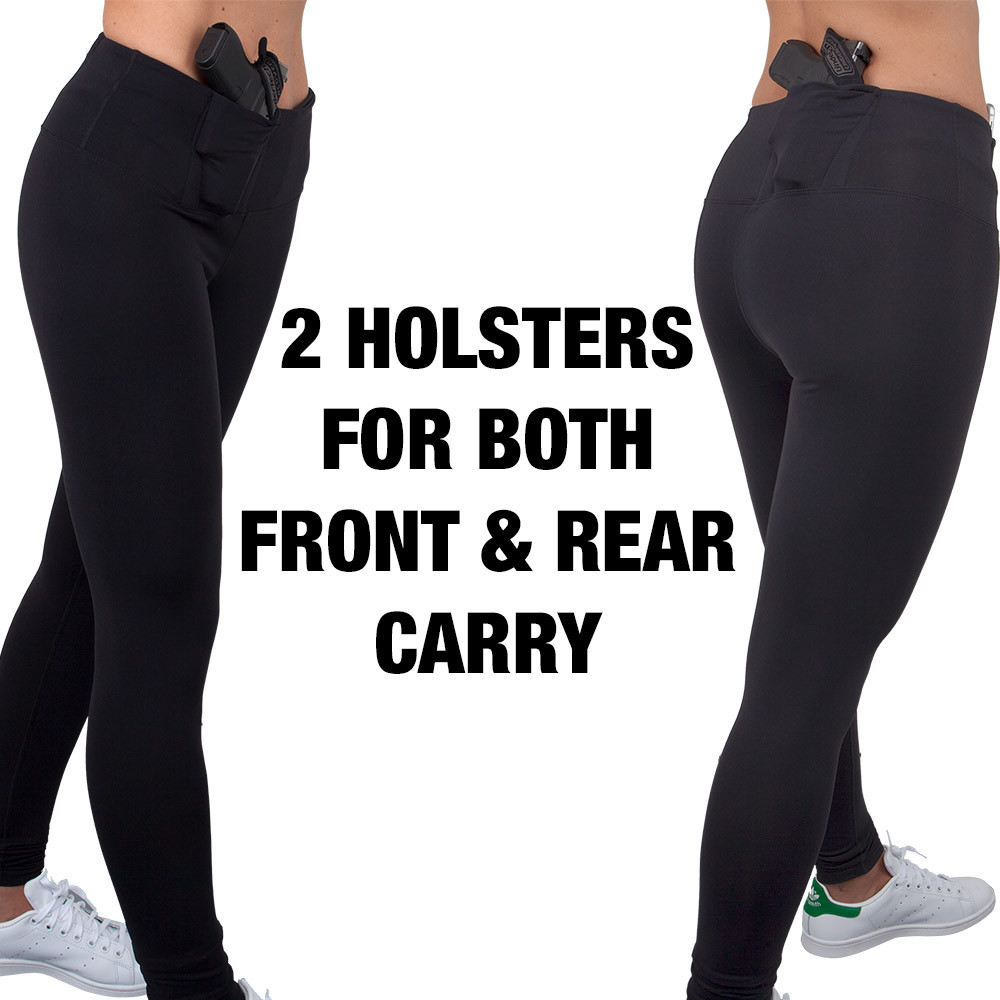 Concealed Carry Leggings-Full Length (L)