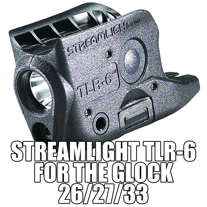 Streamlight TLR-6 for the Glock 26, 27 or 33.