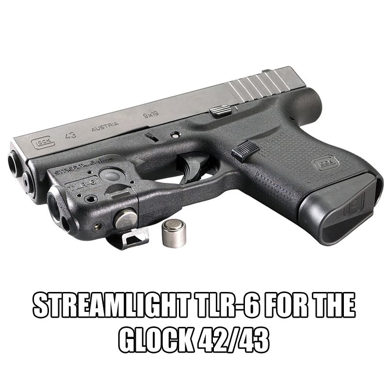 Streamlight TLR-6 for the GLOCK 42/43