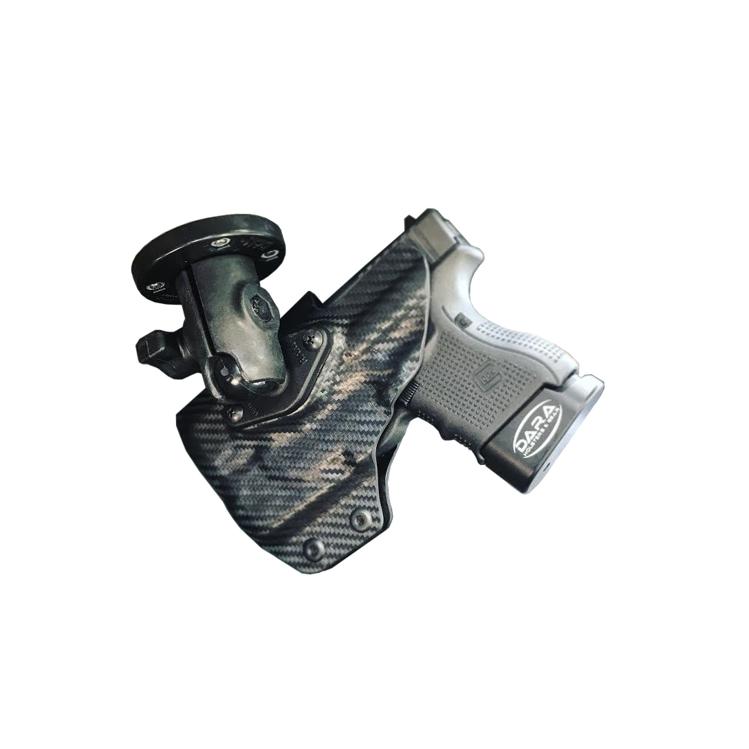 Light bearing RMR Cut RAM Mounted Dara Holster