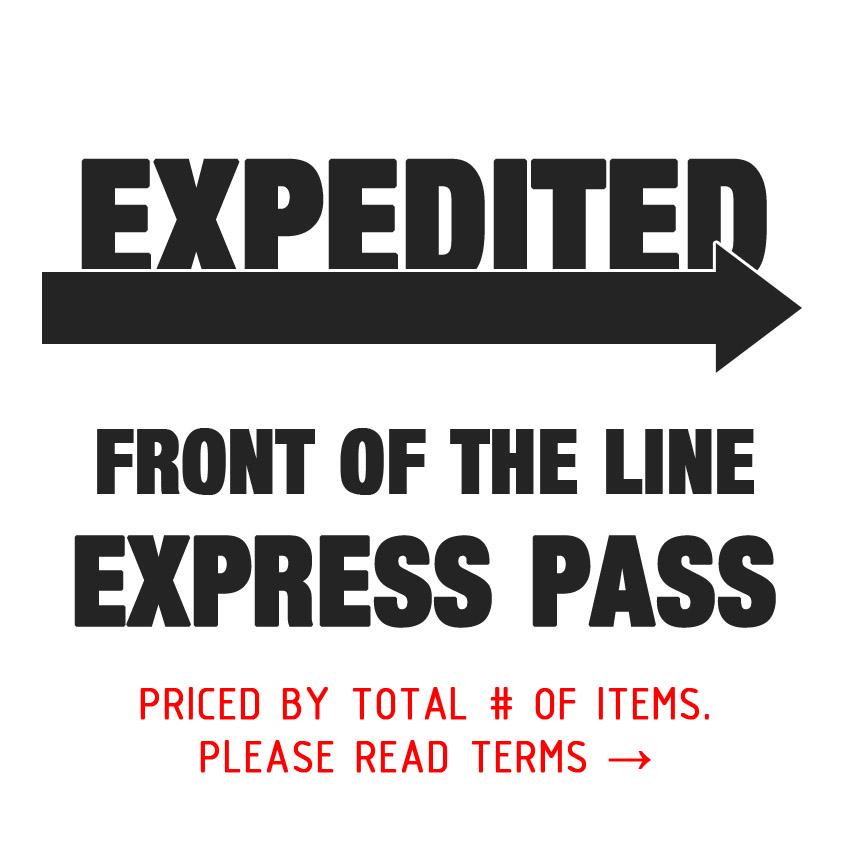 Custom Order Express Pass