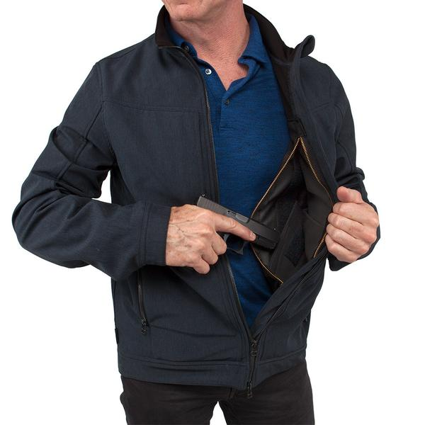 City Concealed Carry Jacket - Navy