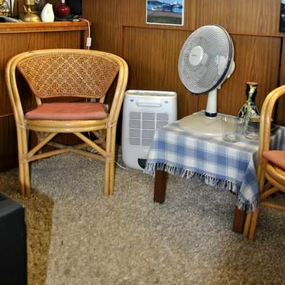 Dehumidifiers for unheated rooms